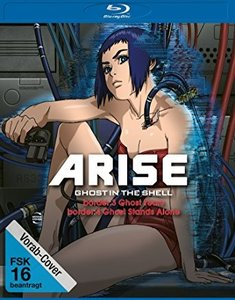 Ghost in the Shell-ARISE: Borders 3 & 4 BD