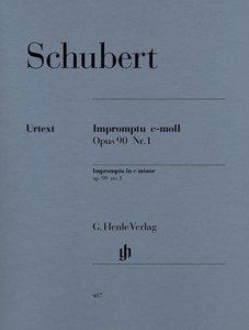 Impromptu c-moll op. 90,1 D 899