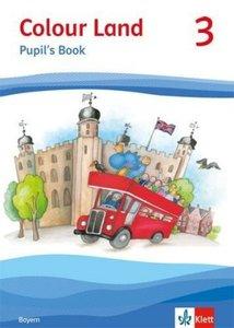 Colour Land ab Klasse 3. Pupil's Book. Ausgabe für Bayern