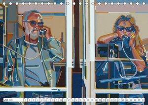 Amerikas Strassen - Illustrationen von Werner Opitz - inspiriert