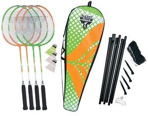 Talbot-Torro 449406 - Badminton-Set 4-Attacker Plus, Kolmplettse