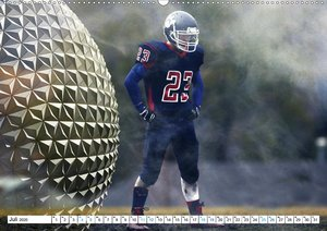 HEROES - American Football (Wandkalender 2020 DIN A2 quer)