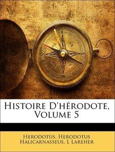 Histoire D'hérodote, Volume 5