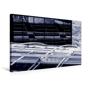 Premium Textil-Leinwand 75 cm x 50 cm quer Frankfurt/Main