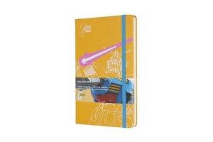 Moleskine Notizbuch - Gundam, Large, A5, Liniert, Hard Cover, Ge