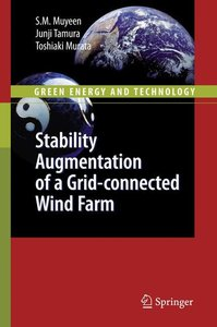 Stability Augmentation of a Grid-connected Wind Farm