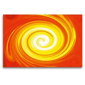 Premium Textil-Leinwand 120 cm x 80 cm quer Energie