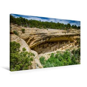 Premium Textil-Leinwand 75 cm x 50 cm quer Mesa Verde NP