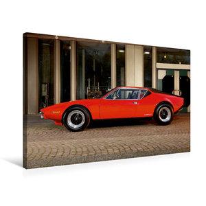 Premium Textil-Leinwand 75 cm x 50 cm quer De Tomaso Pantera