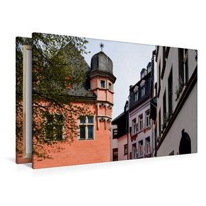 Premium Textil-Leinwand 120 cm x 80 cm quer Florinsmarkt