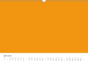 Farbiger Bastelkalender