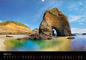 Südseetraum Neuseeland (Wandkalender 2019 DIN A2 quer)