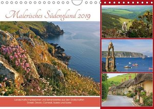 Malerisches Südengland 2019 (Wandkalender 2019 DIN A4 quer)