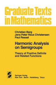 Harmonic Analysis on Semigroups