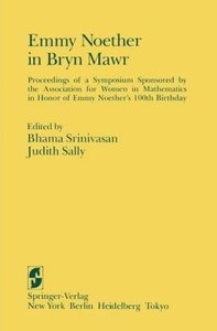 Emmy Noether in Bryn Mawr