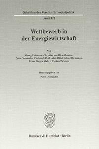 Wettbewerb in der Energiewirtschaft