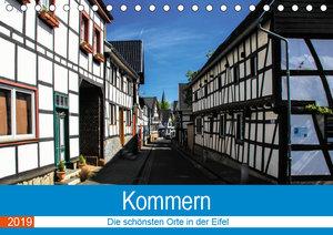 Kommern - Die schönsten Orte in der Eifel (Tischkalender 2019 DI