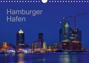 Hafen Hamburg (Wandkalender 2019 DIN A4 quer)