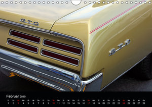 Classic Cars aus den USA (Wandkalender 2019 DIN A4 quer)