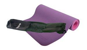 Schildkröt 960069 - Fitness Yogamatte 4mm BICOLOR - Violett/Rosa