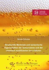Strukturelle Merkmale und sensorische Eigenschaften der Isohumul