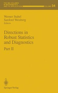 Directions in Robust Statistics and Diagnostics