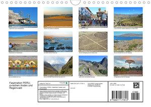Faszination PERU, zwischen Anden und Regenwald (Wandkalender 202