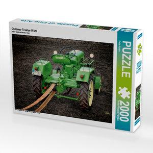 Oldtimer Traktor Wahl 2000 Teile Puzzle quer