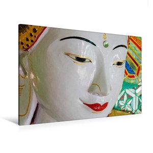 Premium Textil-Leinwand 120 cm x 80 cm quer U Min Thonze Pagode,