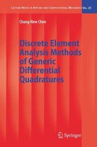 Discrete Element Analysis Methods of Generic Differential Quadra