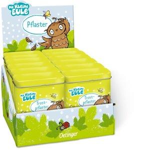 Die kleine Eule: Trostpflaster. Pflasterbox, 12 Boxen