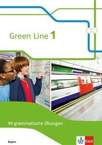 Green Line 1. Ausgabe Bayern. 99 grammatische Übungen mit Lösung