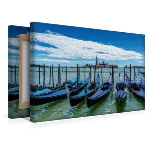 Premium Textil-Leinwand 45 cm x 30 cm quer Venedig