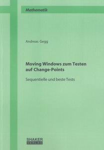 Moving Windows zum Testen auf Change-Points