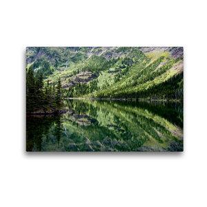 Premium Textil-Leinwand 45 cm x 30 cm quer Lake O\'Hara