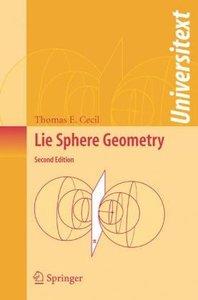 Lie Sphere Geometry