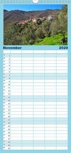 Ligurien für Träumer - Familienplaner hoch (Wandkalender 2020 ,