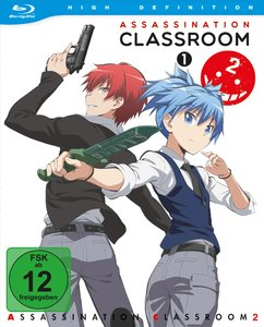 Assassination Classroom - 2.Staffel - Box 1 (Blu-ray)