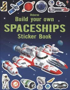 Build Your Own Spaceships Sticker Book