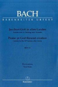 Jauchzet Gott in allen Landen BWV 51