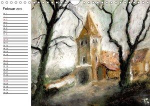 Schatten und Licht Buntstift und Öl von Topaze (Wandkalender 201