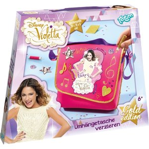 Totum Disney Violetta Umhängetasche Verzieren