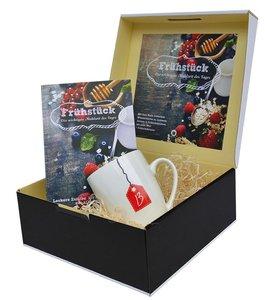 Geschenkbox mit Buch: FRÜHSTÜCKSBOX