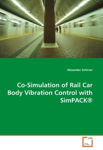 Co-Simulation of Rail Car Body Vibration Control with SimPACK®
