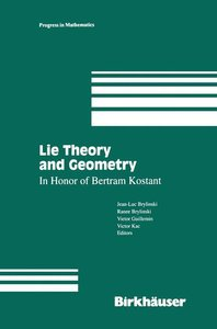 Lie Theory and Geometry