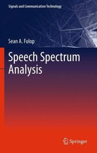 Speech Spectrum Analysis