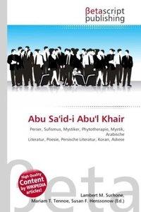 Abu Sa\'id-i Abu\'l Khair