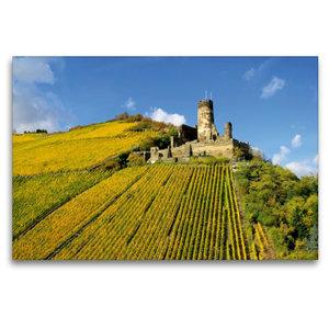 Premium Textil-Leinwand 120 cm x 80 cm quer Burg Fürstenberg
