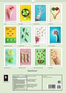 Naschkram (Wandkalender 2020 DIN A3 hoch)