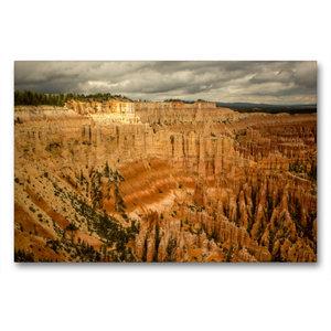 Premium Textil-Leinwand 90 cm x 60 cm quer Bryce Canyon